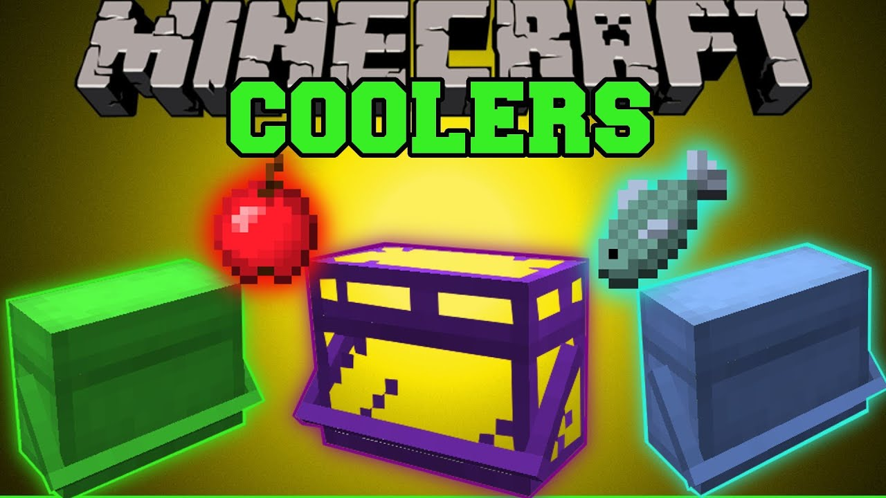 Minecraft coolers store eat food automatically mod for Cuisine minecraft