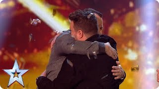 DNA & Kyle Tomlinson are through to the Final! | Semi-Final 1: Results | Britain's Got Talent 2017