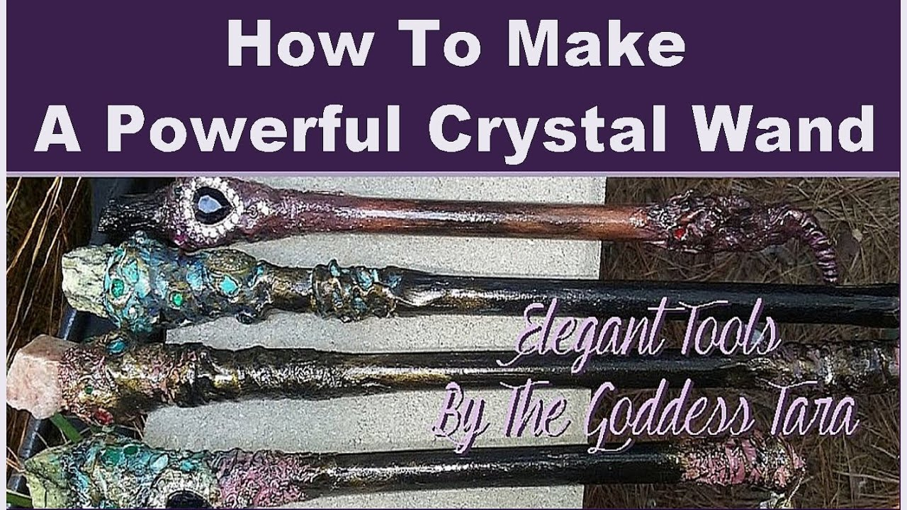 How to make a powerful crystal wand youtube for Most powerful wand