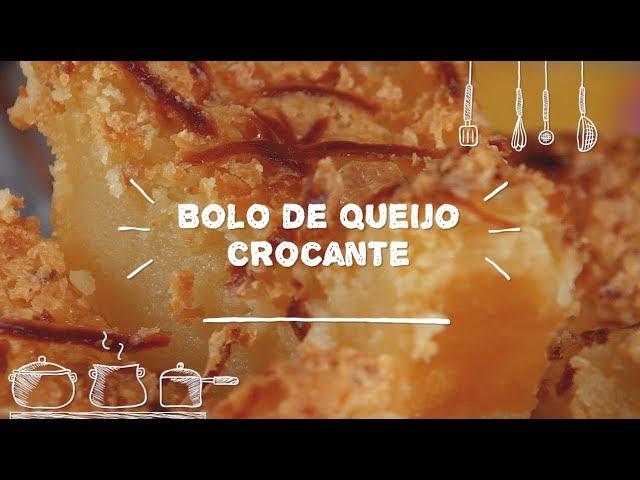 Bolo de Queijo Crocante - Sabor com Carinho (Tijuca Alimentos)
