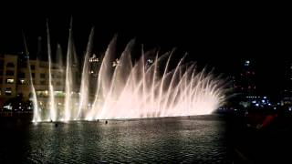 Water Dance Dubai Mall - Whitney Houston - I Will Always Love You