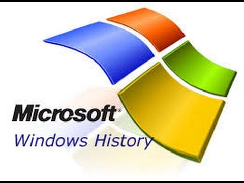 The History Of  Microsoft Windows (From DOS To Windows 10 )