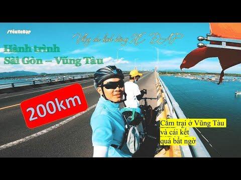 Thử thách đạp xe 200km Sài Gòn – Vũng Tàu   200km Bicycle challenge Saigon – Vungtau beach