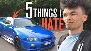 5 Things I HATE About My Nissan Skyline GT-R R34!