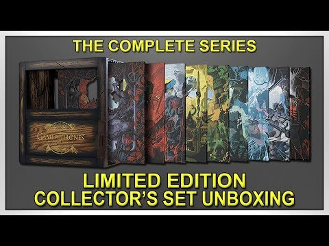 Game Of Thrones: The Complete Series Limited Edition Blu-ray Collector's Set Unboxing