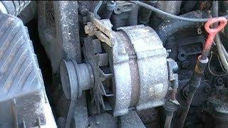 Ремонт генератора Bosch. Замена подшипников.