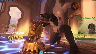Overwatch Rank 1 Doomfist Pro Chipsa Is On Fire
