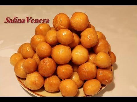 БАУРСАК. БАВЫРСАК рецепт. Вкусные, пышные Баурсаки. Татарская кухня.