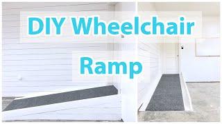 DIY Wheelchair Ramp