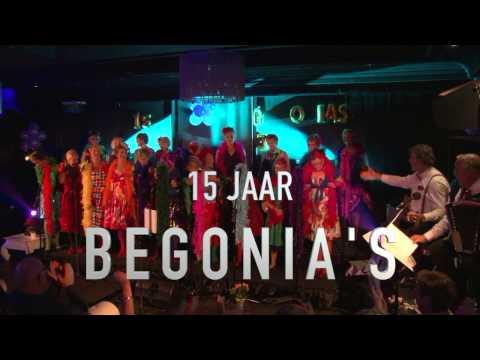 De Begonia's vieren 15 jaar!