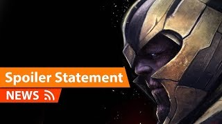 Avengers Endgame Directors Statement about Spoilers & More
