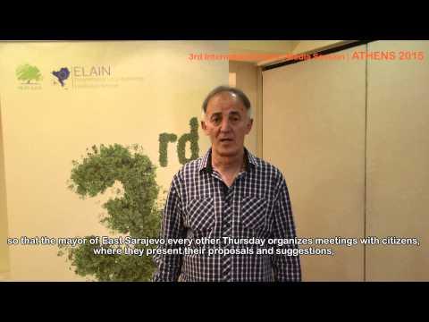 ELAIN | 3rd International event | Media Session | ATHENS | East Sarajevo | Mile Borovina