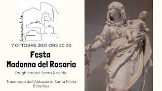 Festa Madonna del Rosario 7 Ottobre Ore 20.30.