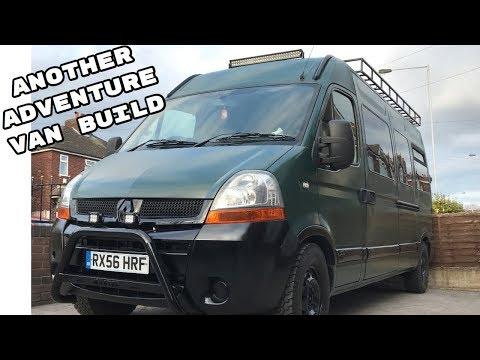 RV Camper / Adventure Van Conversion Tour Renault Master Built For Camping And Mtb