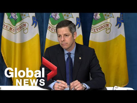 Coronavirus outbreak: Winnipeg officials update on city's reponse to COVID-19 and spring flooding