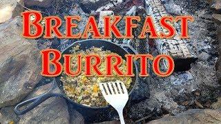 Baixar Cast Iron Breakfast Burritos on the Open Fire