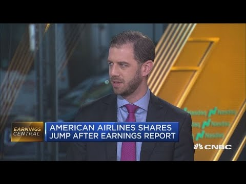 Analyst says airlines earnings are showing an opportunity for sector reevaluation