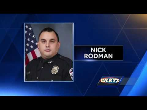 Body camera footage from Officer Rodman's crash released