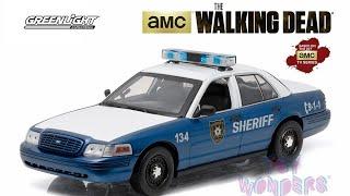 обзор на полицейскую машину из Сериала «Ходячие мертвецы»