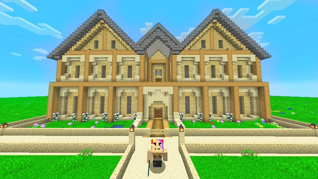 Building The Best House In Minecraft Insane