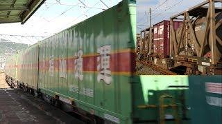 2017年8月13日 貨物列車1051レ&1053レ ~お盆休み中の貨物2本~