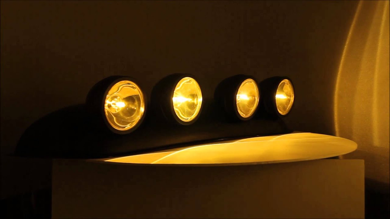Off Road Yellow Roof Spot Fog Lights For Truck Pickup
