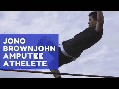 Jono Brownjohn: Amputee Athlete