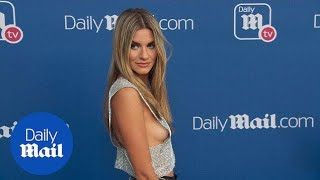 Rachel McCord flashes plenty of sideboob at DailyMail.com and DailyMailTV summer party
