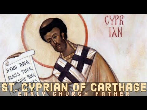 Saint Cyprian Of Carthage
