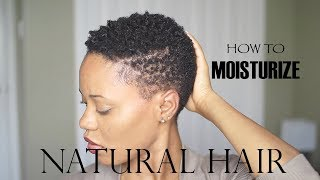 4 Steps to Moisturized Natural Hair