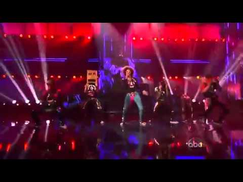 LMFAO - ' Party Rock Anthem ' / ' Sexy and I Know It ' live performance at the AMAs