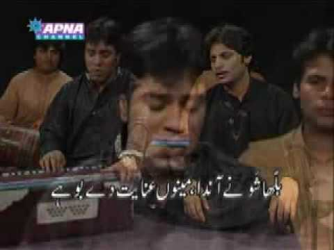 Javed Bashir of mekaal Hassan Band and Akbar Ali B...