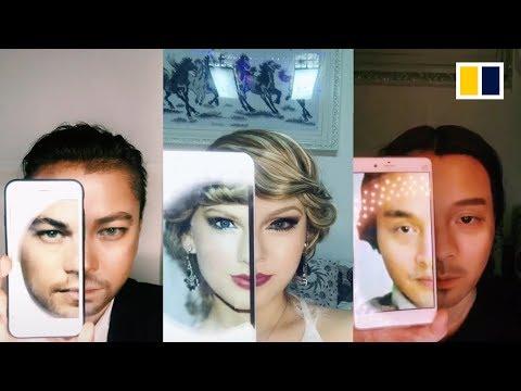 Chinese woman's amazing make-up transformations