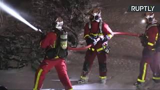 En direct : un incendie en cours près de la gare de Lyon à Paris