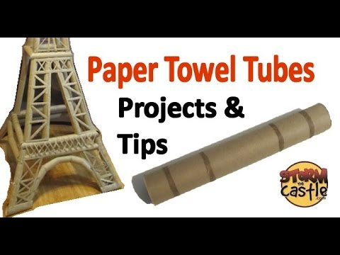 Fun with Paper Towel Tubes - Tips and Tools