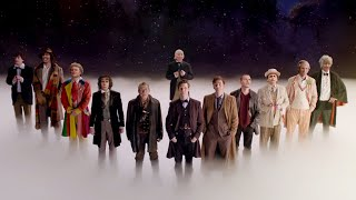 Twelve Doctors Stand Together - The Doctor Dreams - Doctor Who - The Day of the Doctor - BBC