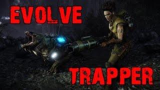 Evolve Big Alpha Gameplay Walkthrough Playthrough Part 4: The Trapper (PC)