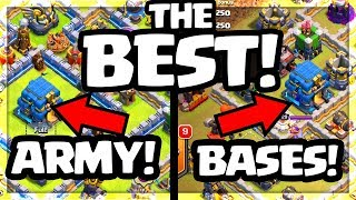 BEST Strategy and BEST Base Builds - Clash of Clans Town Hall 12!