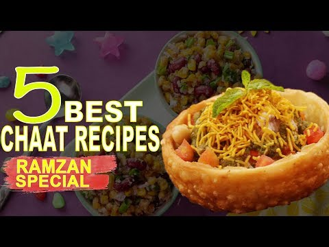5 Best Chaat Recipes By SooperChef (Iftar Special Recipes)