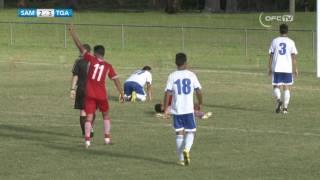 2016 OFC U20 Preliminary   Samoa vs Tonga