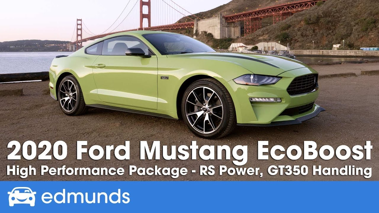 2020 Ford Mustang Prices Reviews And Pictures Edmunds