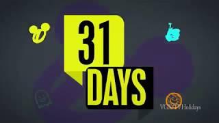 Disney Channel HD US Halloween Advert #2 2017 - 31 Days of Halloween