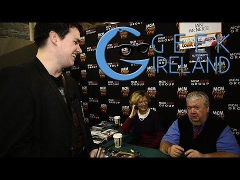 Geek Ireland Meets Ian McNeice and Danny John-Jules