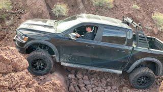 NEW Dodge Ram 1500 TRX (2021) Offroad & Water Test - Perfect Pick Up Truck !