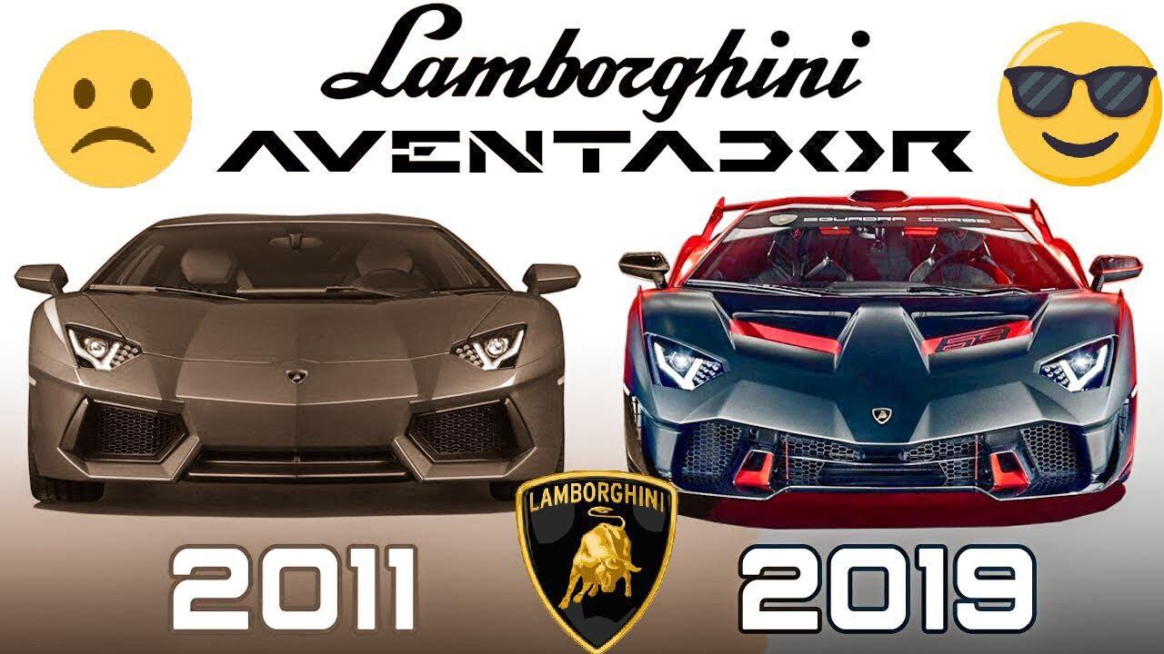 Evolucion Lamborghini Aventador 2011 2019 Espanol Youtube