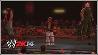 WWE 2K14 - Follow The Buzzards! The Wyatt Family Make Their Way To The Ring (Community Creations)