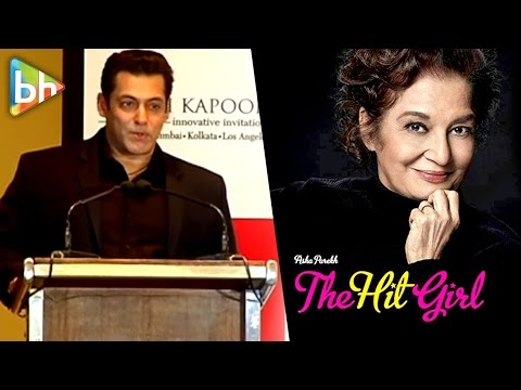 Salman Khan | Salim Khan |  Asha Parekh | Book Launch | The Hit Girl | Uncut Event