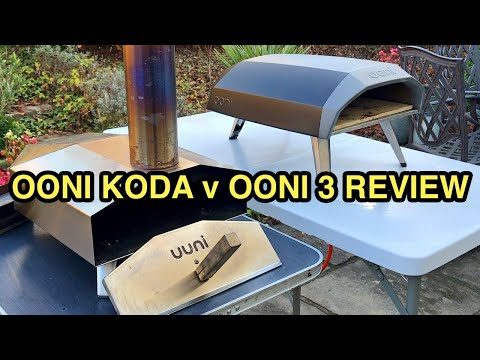 Ooni Koda V Ooni 3 Review | Portable Gas-Fired Pizza Ovens