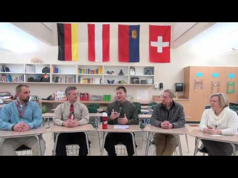 Northland Pines High School Principal, Jim Brewer's December 2015 Videocast