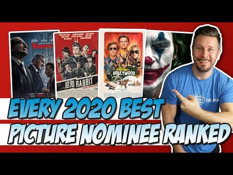 All 9 2020 Best Picture Nominees Ranked!